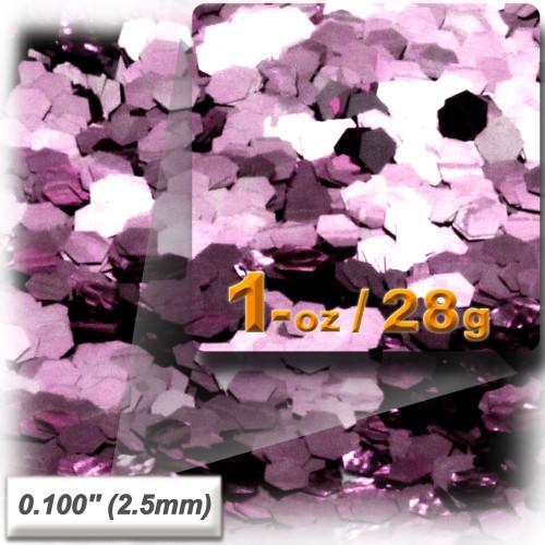Glitter powder, 1oz/28g, Sequins Glitter 0.100in, Pink
