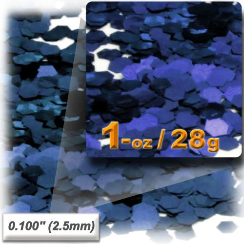 Glitter powder, 1oz/28g, Sequins Glitter 0.100in, Royal Blue