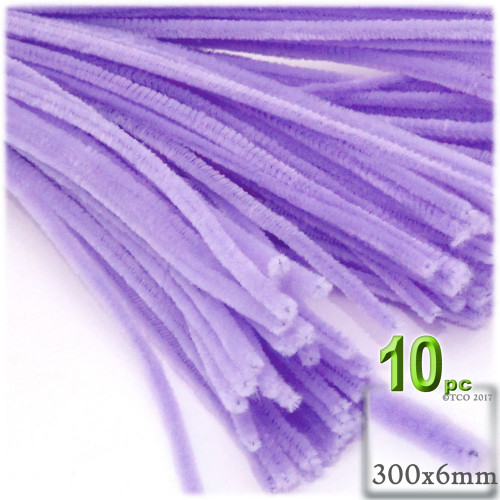 Stems, Polyester, 12-in, 10-pc, Lavender