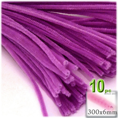 Stems, Polyester, 12-in, 10-pc, Orchid