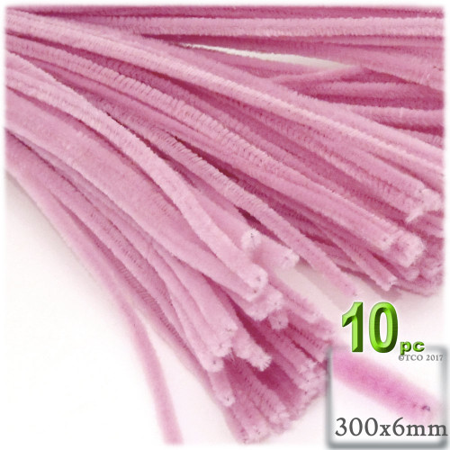 Stems, Polyester, 12-in, 10-pc, Pink