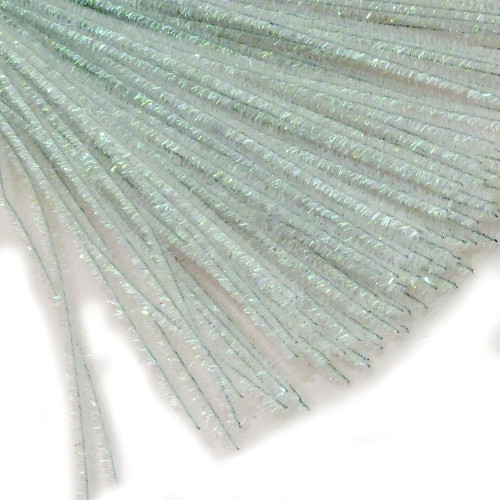 Stems, Sparkly, 12-in, 10-pc, Clear