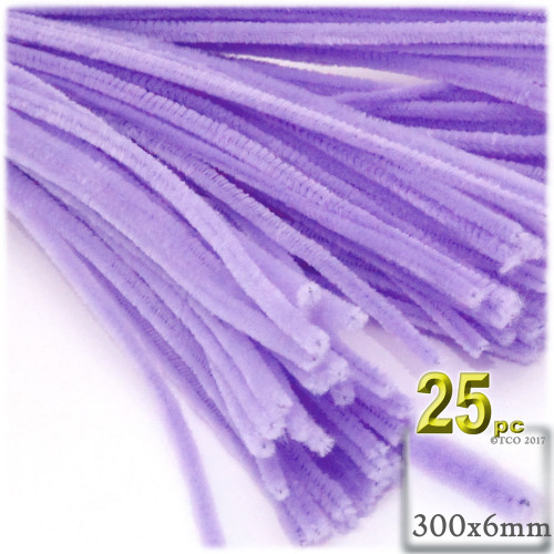 Stems, Polyester, 12-in, 25-pc, Lavender