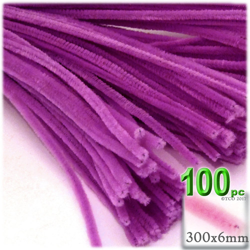 Stems, Polyester, 12-in, 100-pc, Orchid