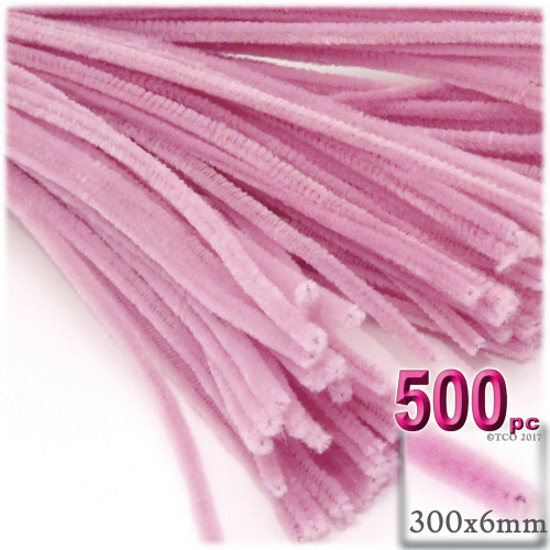 Stems, Polyester, 12-in, 500-pc, Pink