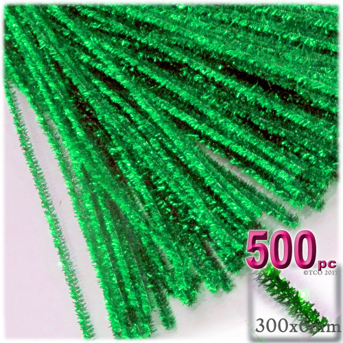 Stems, Sparkly, 12-in, 500-pc, Light Green