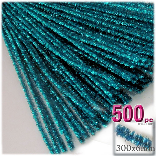 Stems, Sparkly, 12-in, 500-pc, Ocean Blue