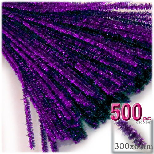 Stems, Sparkly, 12-in, 500-pc, Purple