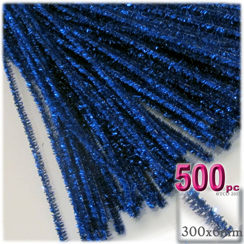 Stems, Sparkly, 12-in, 500-pc, Royal Blue