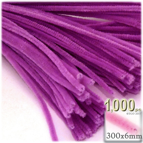 Stems, Polyester, 12-in, 1000-pc, Orchid