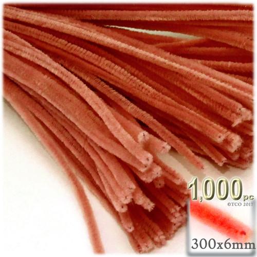 Stems, Polyester, 12-in, 1000-pc, Orange