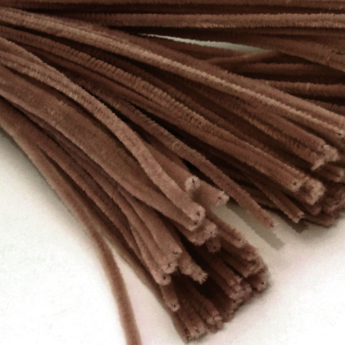 Stems, Polyester, 20-in, 10-pc, Coffee