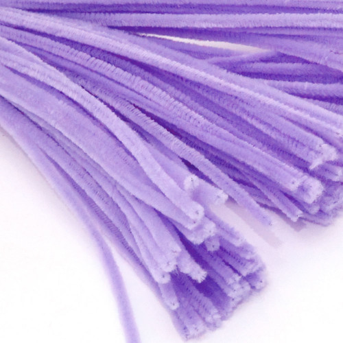 Stems, Polyester, 20-in, 10-pc, Lavender
