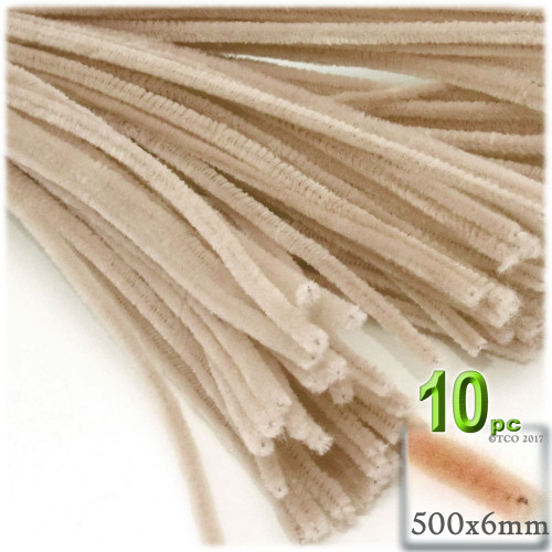 Stems, Polyester, 20-in, 10-pc, Tan