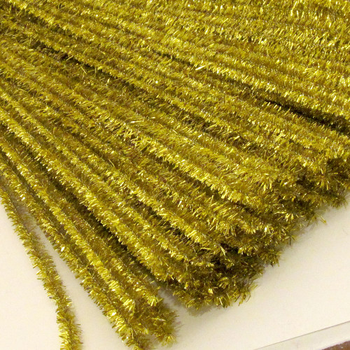 Stems, Sparkly, 20-in, 10-pc, Light Gold