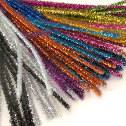 Stems, Sparkly, 20-in, 10-pc, Mixed Pack