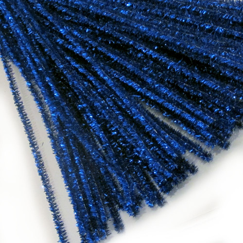 Stems, Sparkly, 20-in, 10-pc, Royal Blue