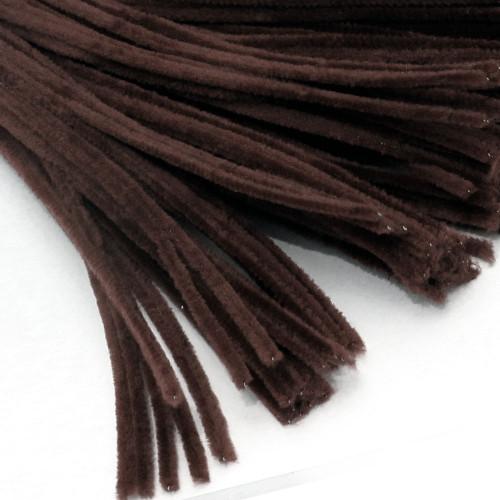 Stems, Polyester, 20-in, 25-pc, Dark Brown