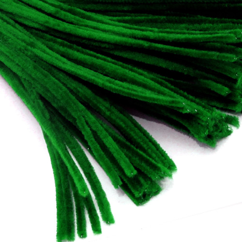 Stems, Polyester, 20-in, 25-pc, Emerald Green