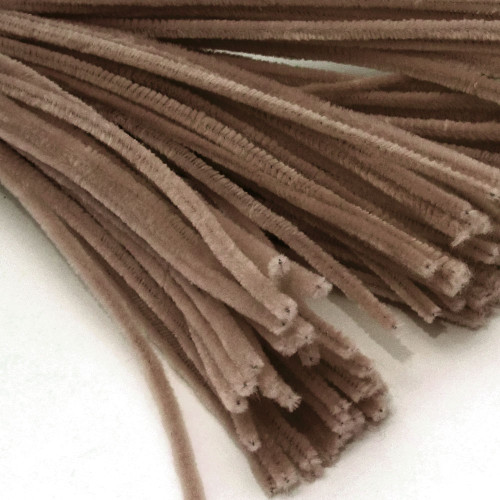 Stems, Polyester, 20-in, 25-pc, Light Brown