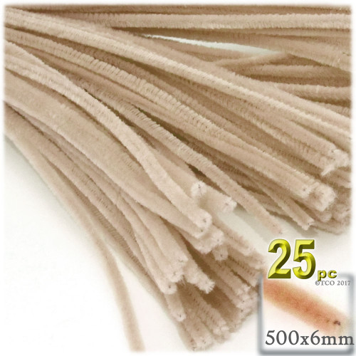 Stems, Polyester, 20-in, 25-pc, Tan