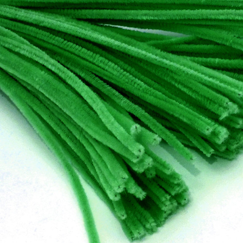 Stems, Polyester, 20-in, 50-pc, Light Green