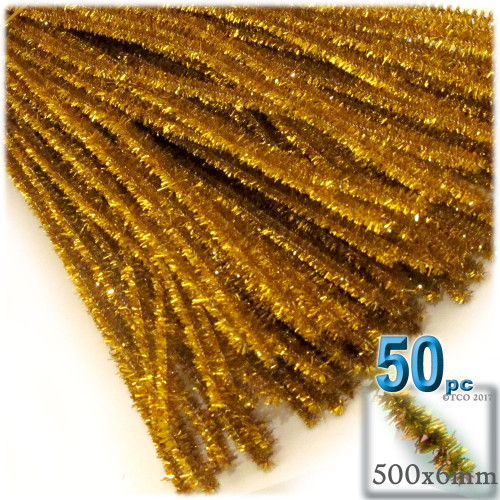 Stems, Sparkly, 20-in, 50-pc, Gold