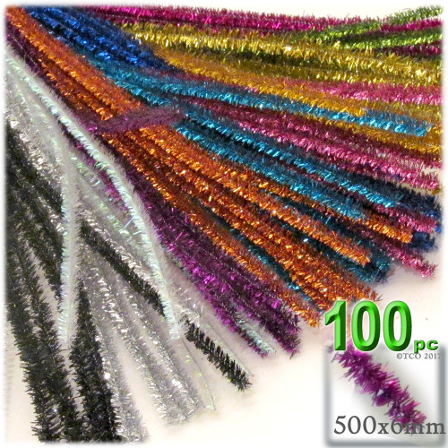 Stems, Sparkly, 20-in, 100-pc, Mixed Pack