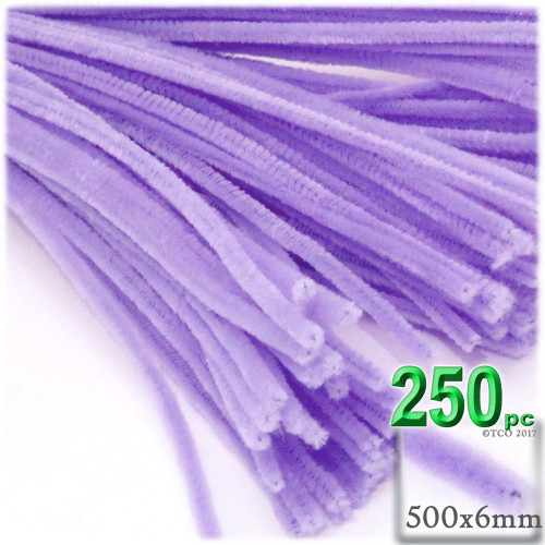 Stems, Polyester, 20-in, 250-pc, Lavender