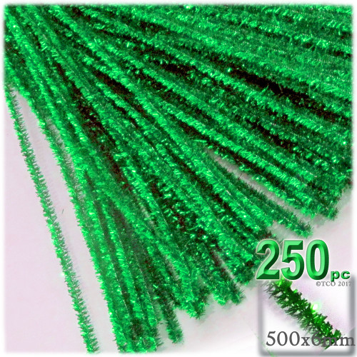 Stems, Sparkly, 20-in, 250-pc, Light Green
