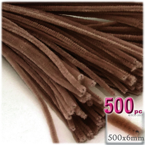 Stems, Polyester, 20-in, 500-pc, Coffee