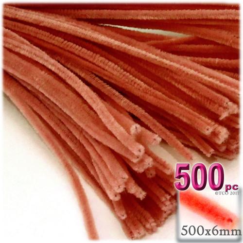Stems, Polyester, 20-in, 500-pc, Orange