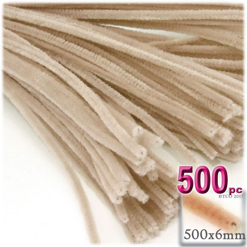 Stems, Polyester, 20-in, 500-pc, Tan