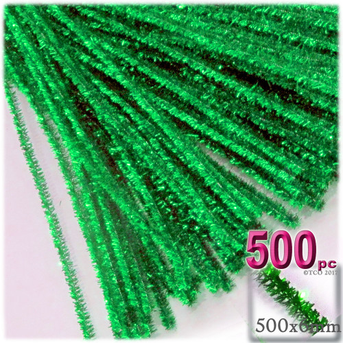 Stems, Sparkly, 20-in, 500-pc, Light Green