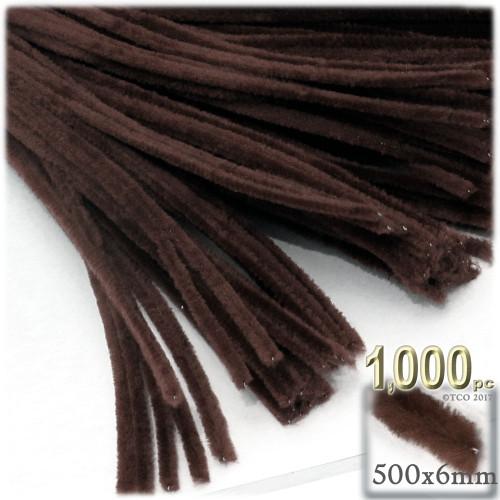 Stems, Polyester, 20-in, 1000-pc, Dark Brown