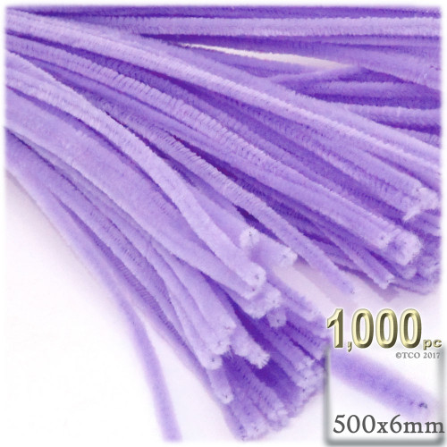 Stems, Polyester, 20-in, 1000-pc, Lavender