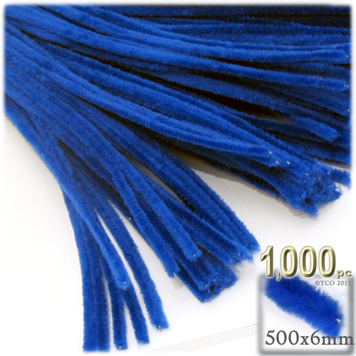 Stems, Polyester, 20-in, 1000-pc, Royal Blue