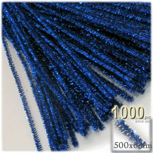 Stems, Sparkly, 20-in, 1000-pc, Royal Blue