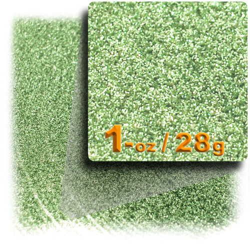 Glitter powder, 1oz/28g, Fine 0.008in, Apple Green