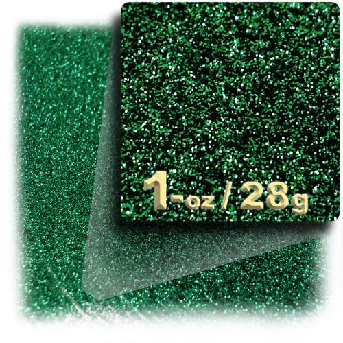 Glitter powder, 1oz/28g, Fine 0.008in, Emerald Green