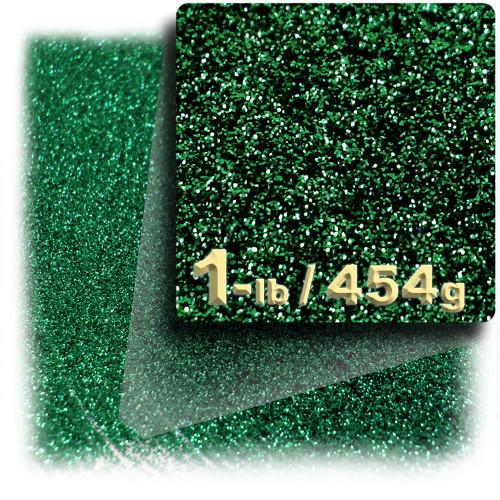 Glitter powder, 1-LB/454g, Fine 0.008in, Emerald Green