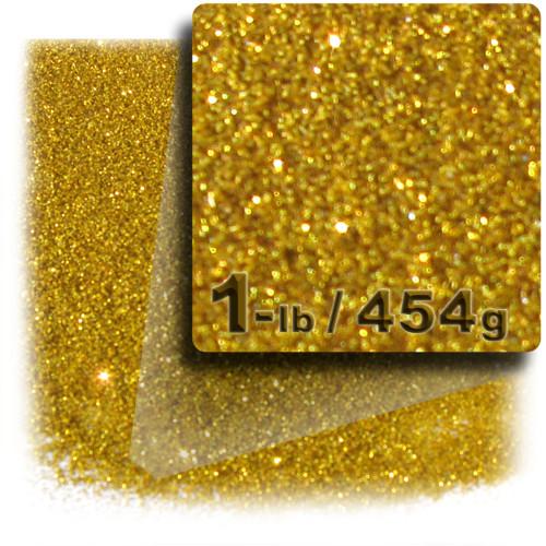 Glitter powder, 1-LB/454g, Fine 0.008in, Gold