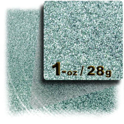Glitter powder, 1oz/28g, Fine 0.008in, Jade Blue