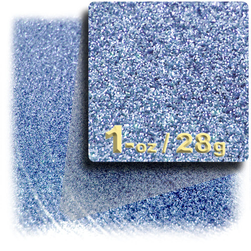 Glitter powder, 1oz/28g, Fine 0.008in, Light Blue
