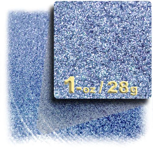 Glitter powder, 1oz/28g, Fine 0.008in, Light Blue