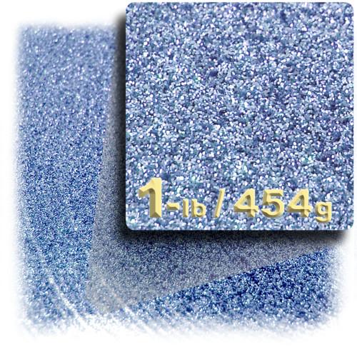 Glitter powder, 1-LB/454g, Fine 0.008in, Light Blue