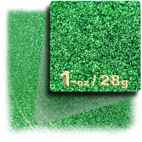 Glitter powder, 1oz/28g, Fine 0.008in, Light Green