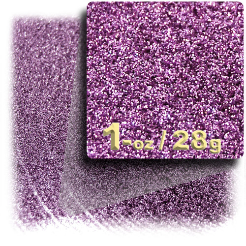 Glitter powder, 1oz/28g, Fine 0.008in, Light Purple