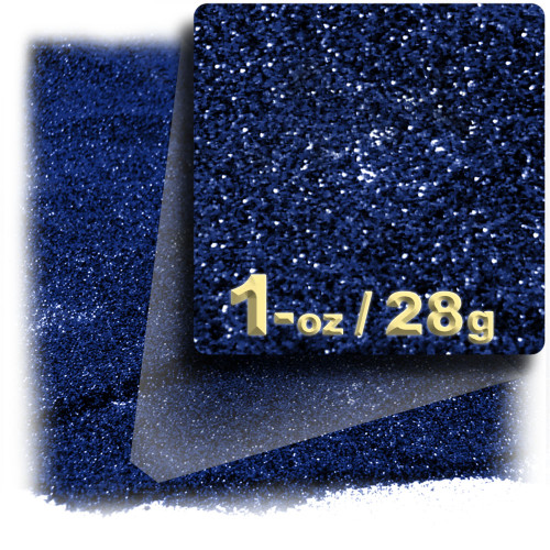 Glitter powder, 1oz/28g, Fine 0.008in, Royal Blue