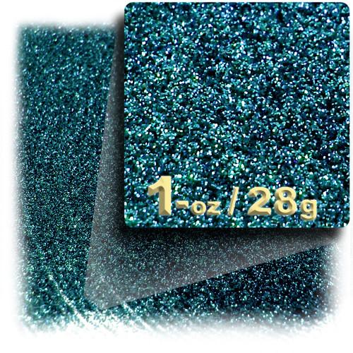 Glitter powder, 1oz/28g, Fine 0.008in, Turquoise